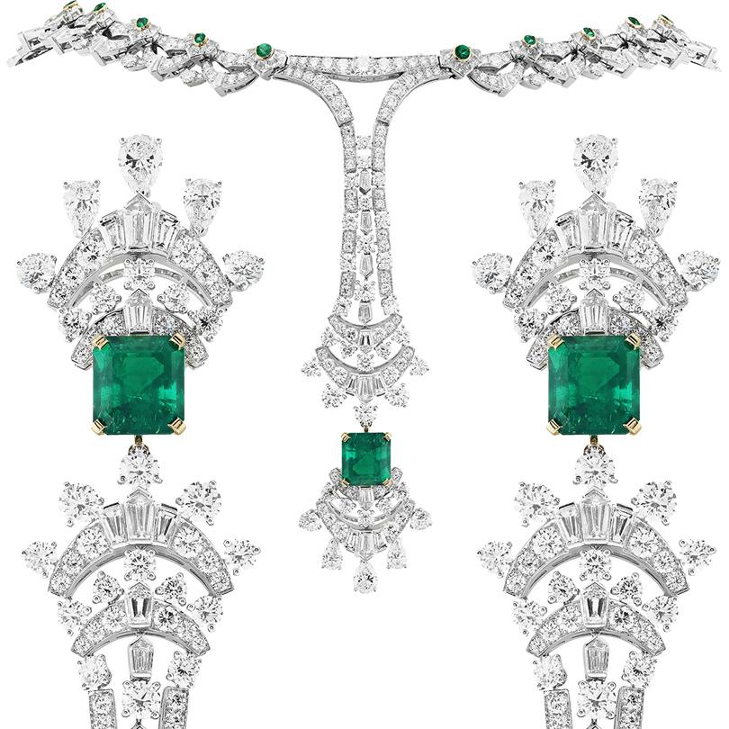 Часы & Караты: коллекция украшений Émeraude en Majesté Van Cleef & Arpels