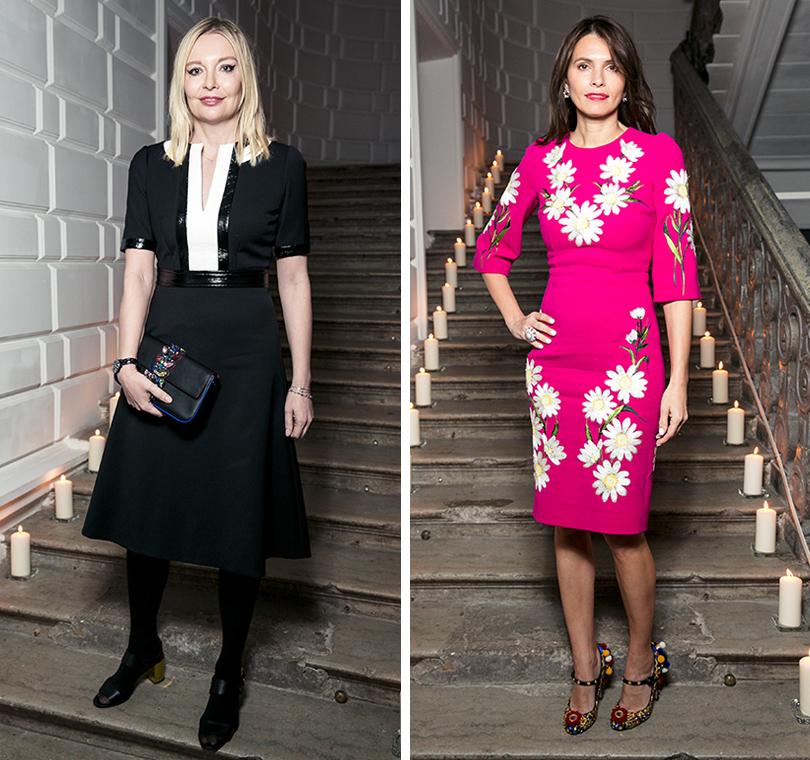Закрытый ужин Vogue и бутика Farfetch: Виктория Давыдова. Анна Брострем