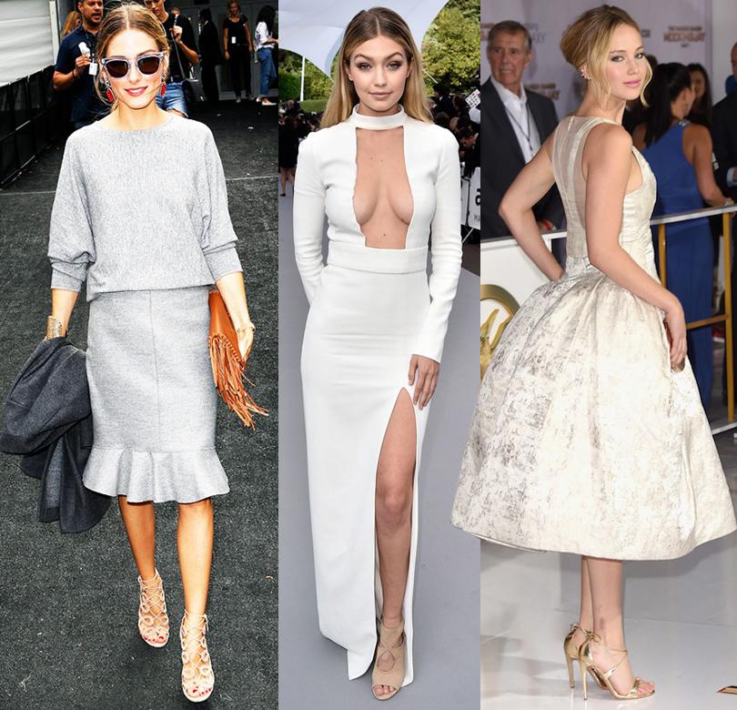Shoes & Bags Blog: почему fashionistas выбирают Aquazzura? Оливия Палермо, Джиджи Хадид, Дженнифер Лоуренс