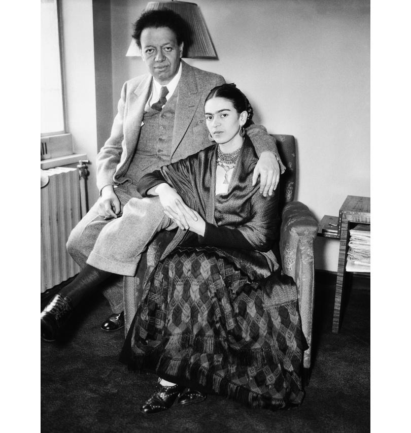 Фрида Кало — ретроспектива творчества и борьбы. Диего Ривера и Фрида Кало