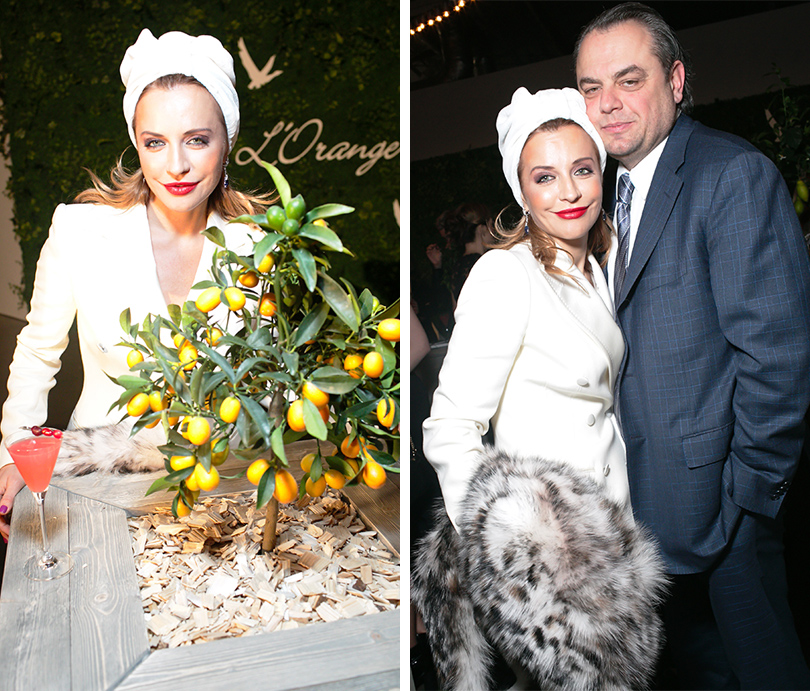 Гастрономический ужин Grey Goose L'Orangerie в Москве: Виктория и Олег Шеляговы