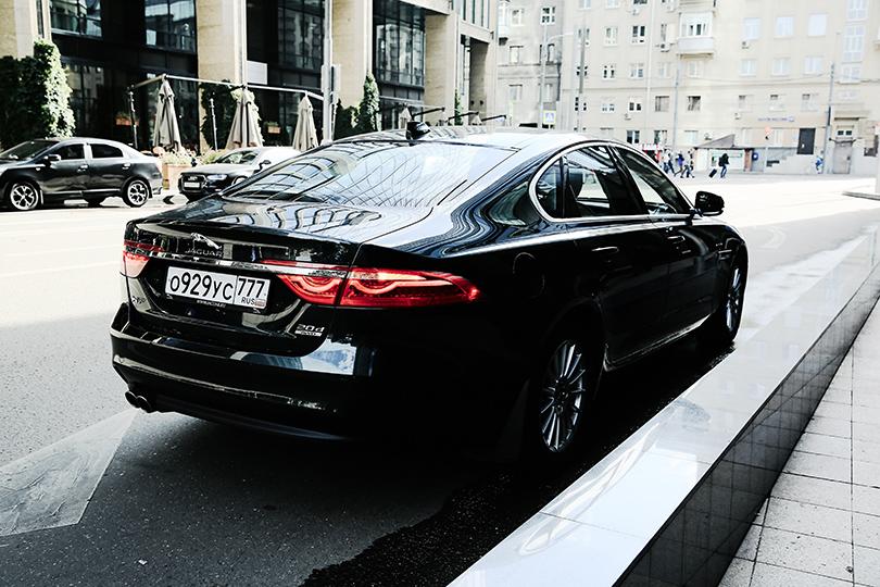 Москва в стиле Jaguar: XF — идеальное городское авто на каждый день
