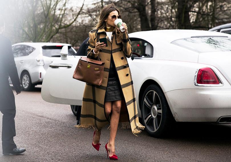 Стилист и модный редактор Эрика Пелосини