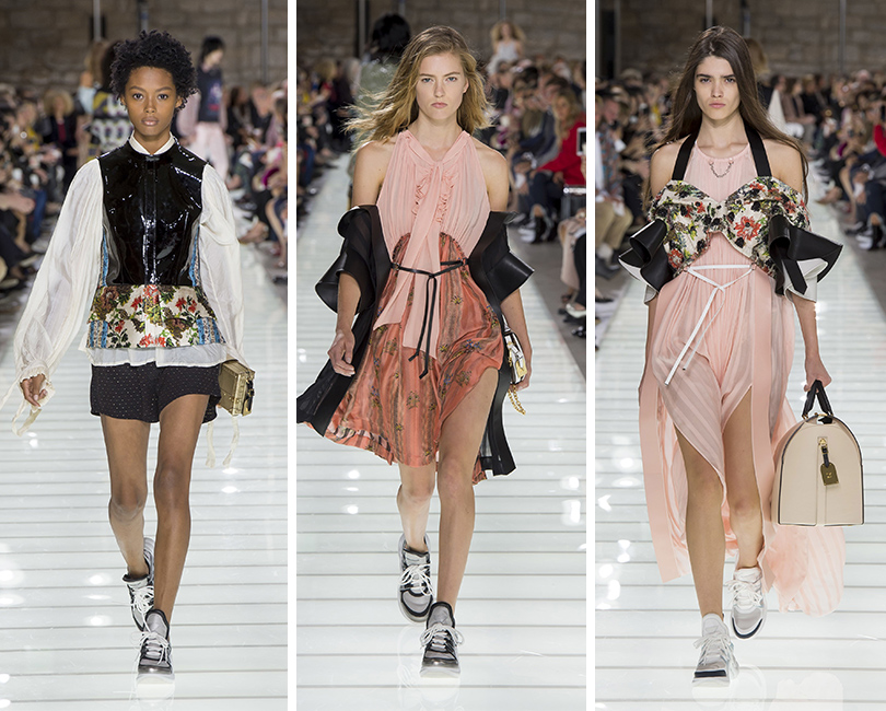 «Исторический футуризм»: показ Louis Vuitton весна-лето 2018