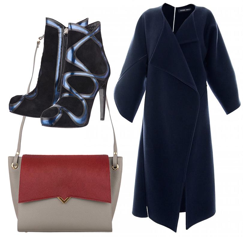 Luxe for Less: в Париже открылся Интернет-магазин модной одежды «без накруток»! Сумка Versa Versa, пальто Stephanie Coudert, ботильоны Nathalie Elharrar