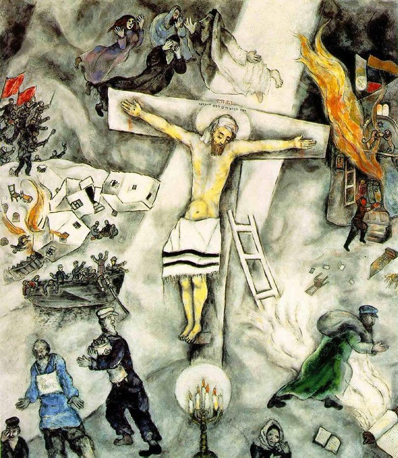Art & More: шесть фактов о Марке Шагале, или Новые панно художника в Третьяковке. Факт 5— ботаническая живопись vsраспятия
