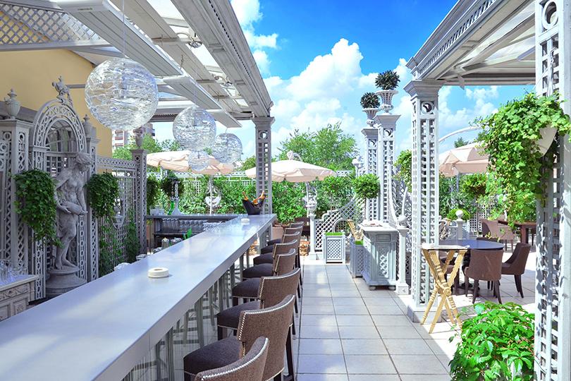 Выходные вгороде: летние веранды московских ресторанов. Ресторан «Турандот»