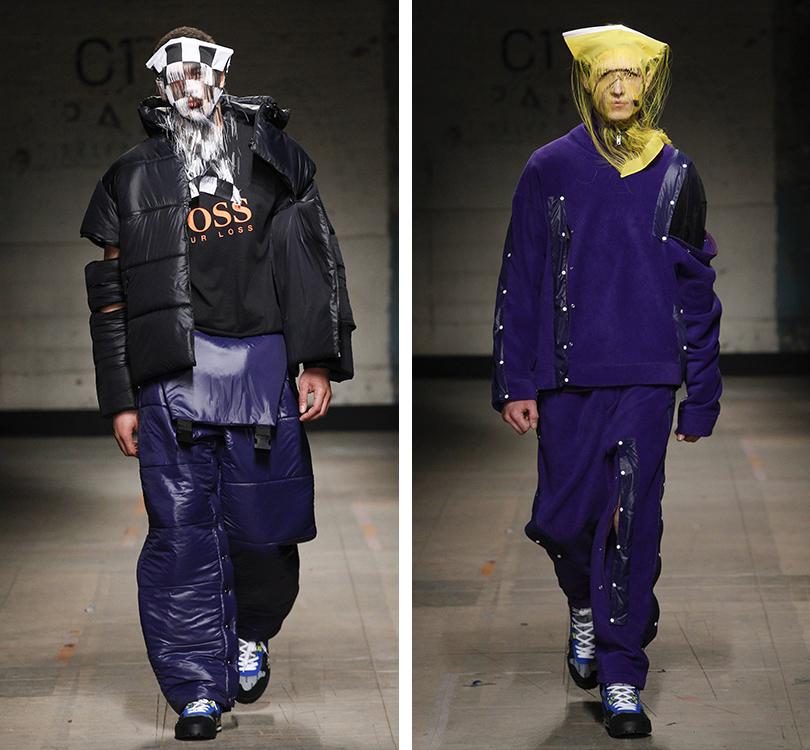 Men inStyle: самые эпатажные образы Недели мужской моды вЛондоне. Christopher Shannon