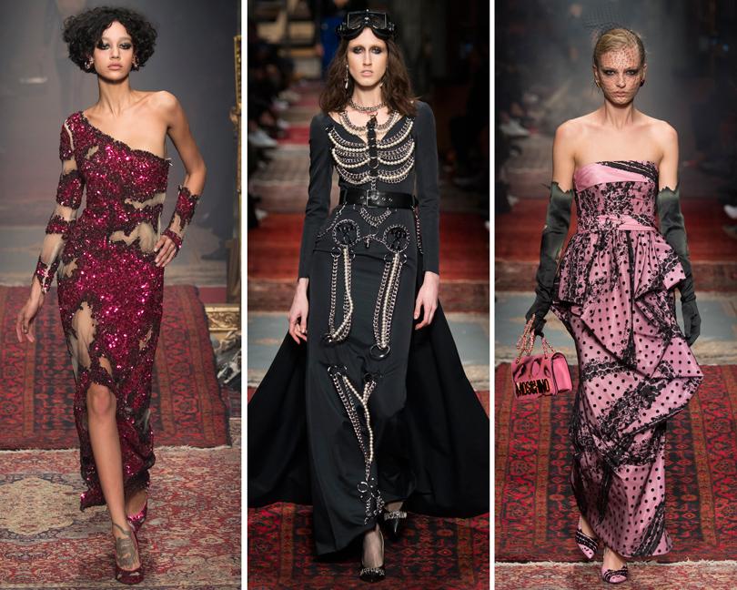 Ключевые показы первых дней Недели моды в Милане: Moschino