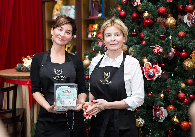 Софико Шеварнадзе и Татьяна Арно