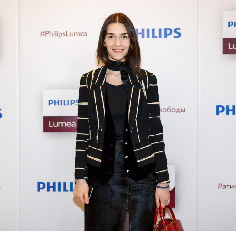 Beauty Shopping: Philips представили обновленную линейку фотоэпиляторов Lumea. Гости: Мари Коберидзе