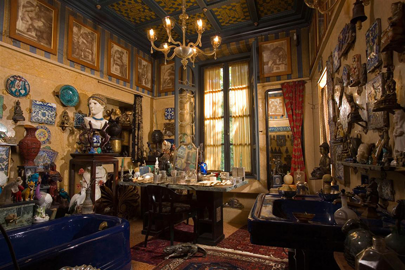 Дом как музей: как оформить интерьер античными скульптурами. Витториале-дельи-Итальяни наозере Гарда (Via Vittoriale, 12, Gardone Riviera)