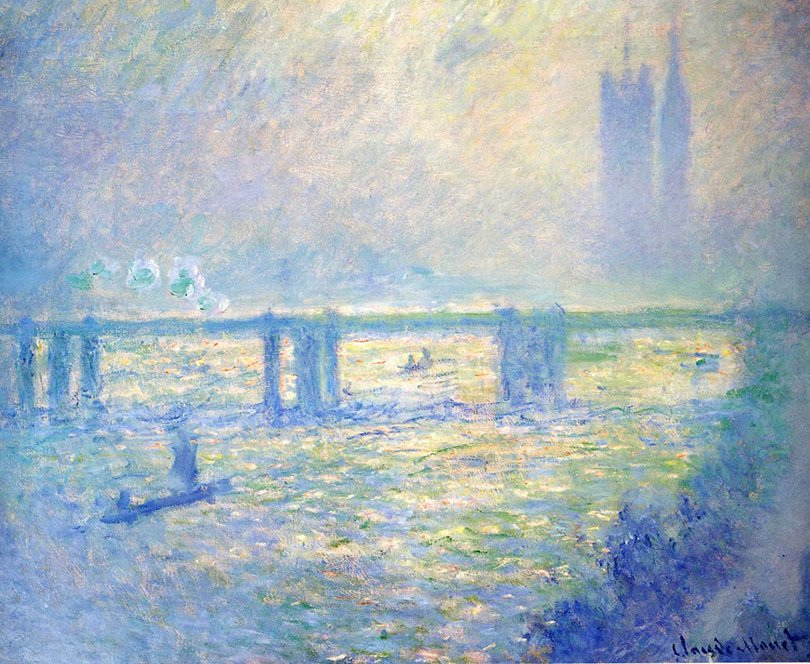 Клод Моне — «Мост Ватерлоо, Лондон»