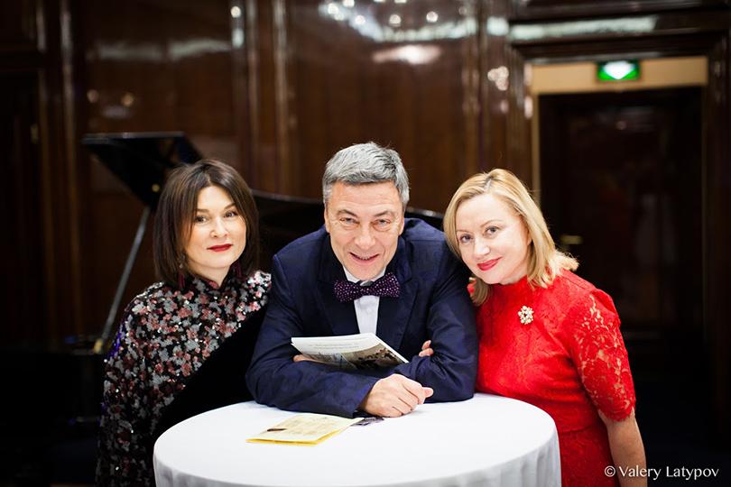 Марианна Чайкина, Андрей Акимов и Елена Караколева