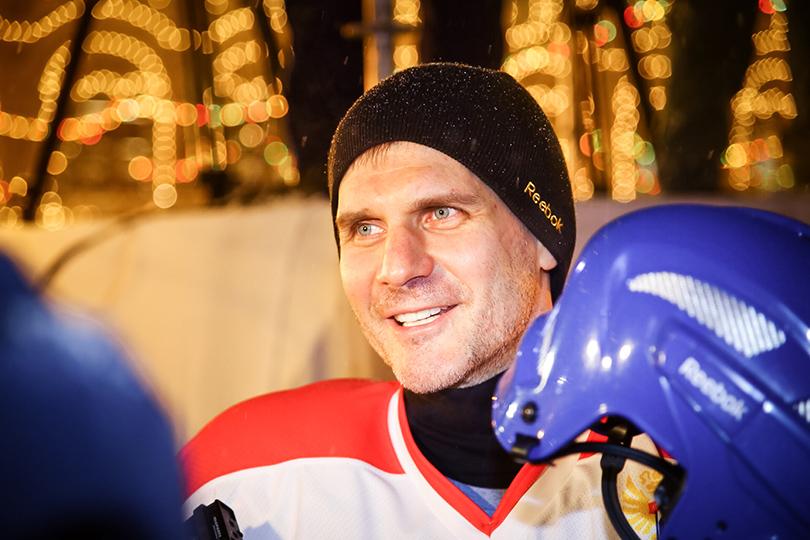 Sports & Lifestyle: 100 дней до старта Чемпионата мира по хоккею и товарищеский матч с участием звезд: Алексей Яшин