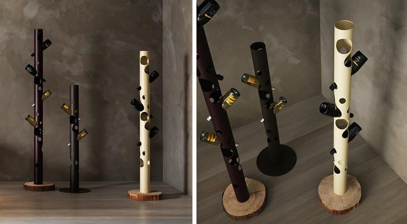 Дизайн & Декор: винные стеллажи и полки-конструкторы — для стильных интерьеров и модных вечеринок. Arbol от Elite To Be