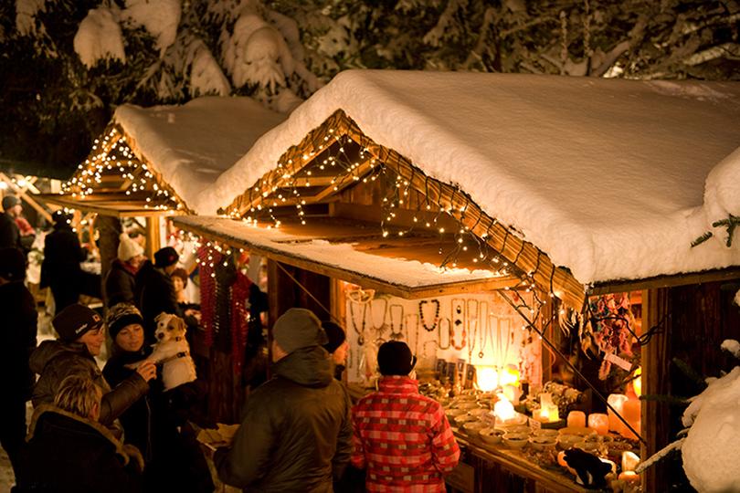 Самые лучшие рождественские базары Европы: Майрхофен
