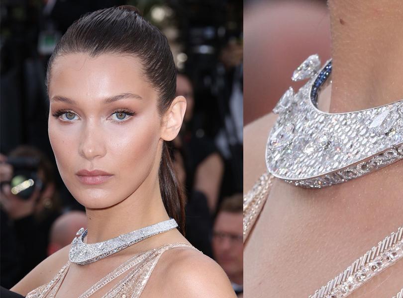 Cannes 2016: самые яркие ювелирные украшения церемонии открытия Каннского кинофестиваля. Белла Хадид вDeGrisogono