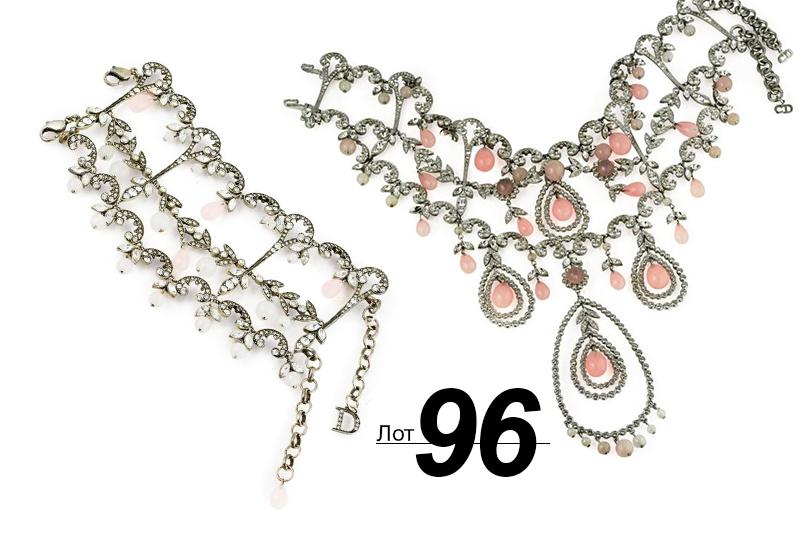 Сподиума— нааукцион: Sotheby's выставил наторги прототипы украшений споказов Dior. «Розовое танго» (лот 96)