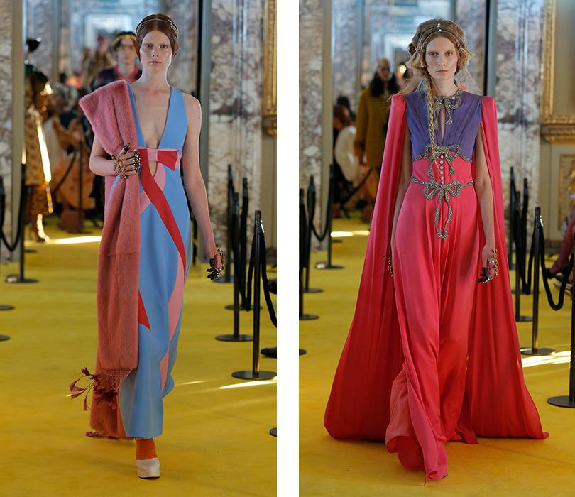 Средневековый рок-н-ролл: показ круизной коллекции Gucci воФлоренции