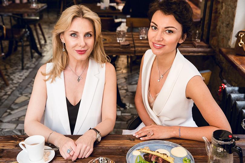Let's Talk Food: девичник Москва-Петербург в ресторане Hamlet+Jacks. Марина Железнова и Шорена Джинали