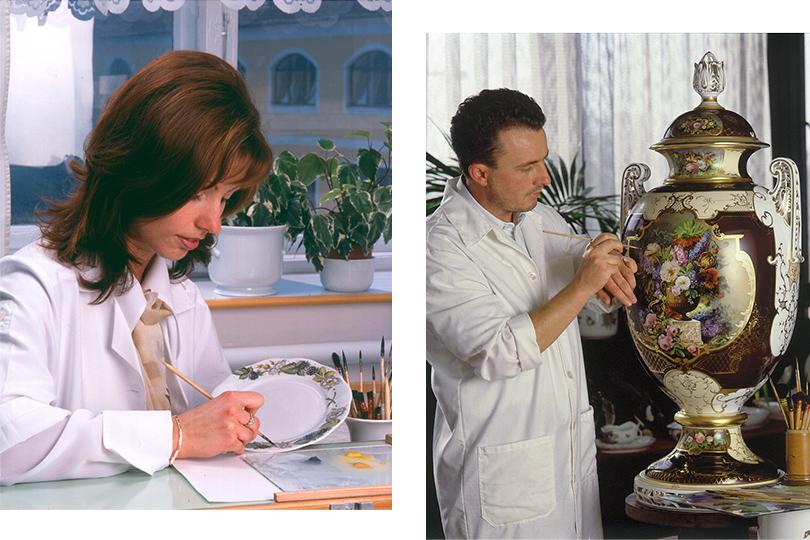 Как это сделано: ручная роспись, позолота идругие секреты изготовления фарфора «Херенд»