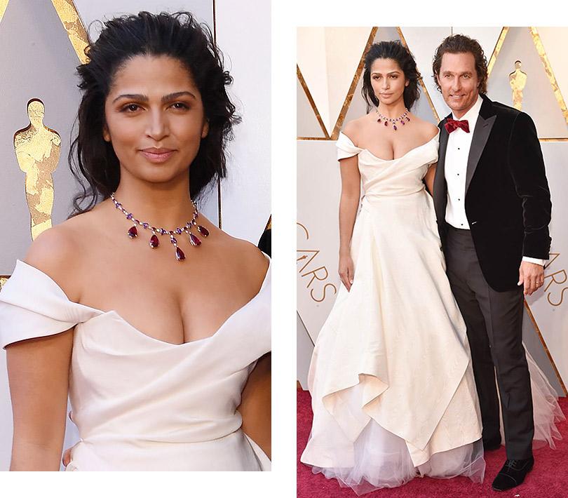 Часы &Караты: роскошные украшения церемонии «Оскар». Камила Алвес
