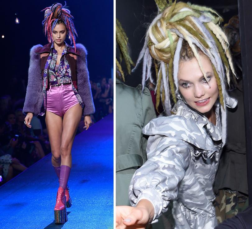 Style Notes: парад супермоделей или рейв-вечеринка? Marc Jacobs в Нью-Йорке. Ирина Шейк. Карли Клосс