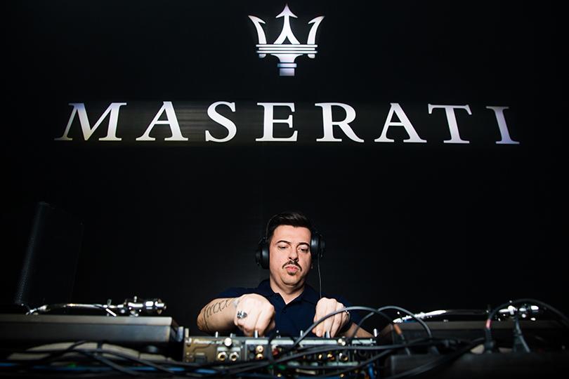 Светская хроника: первый кроссовер Maserati в Москве. DJ Денис Симачев