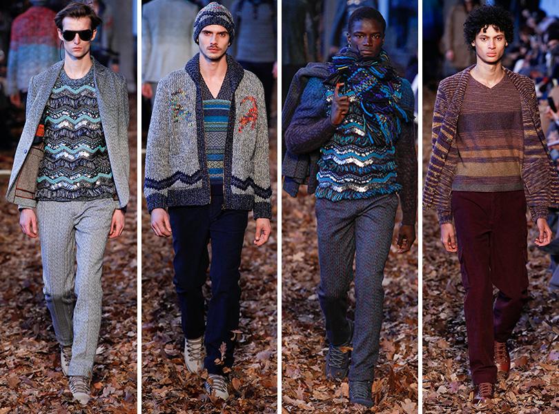 Первый план — лучшие показы на Неделе мужской моды в Милане: Missoni