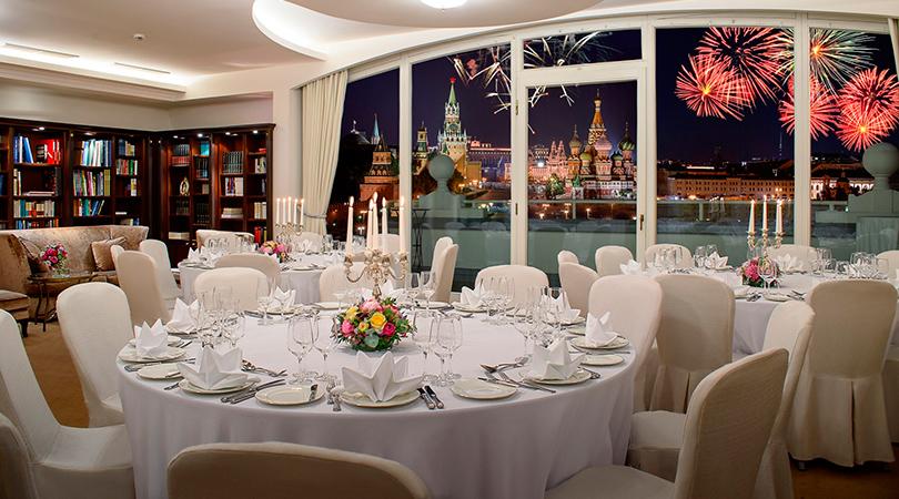 Новый год в отелях Москвы: «Балчуг Кемпински Москва»