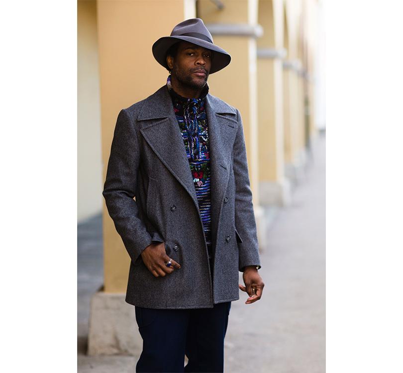 Men in Style: уличная мода на выставке Pitti Uomo. Фотограф Карл-Эдвин Герр