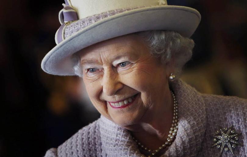 ЕеВеличество королева Великобритании Елизавета II
