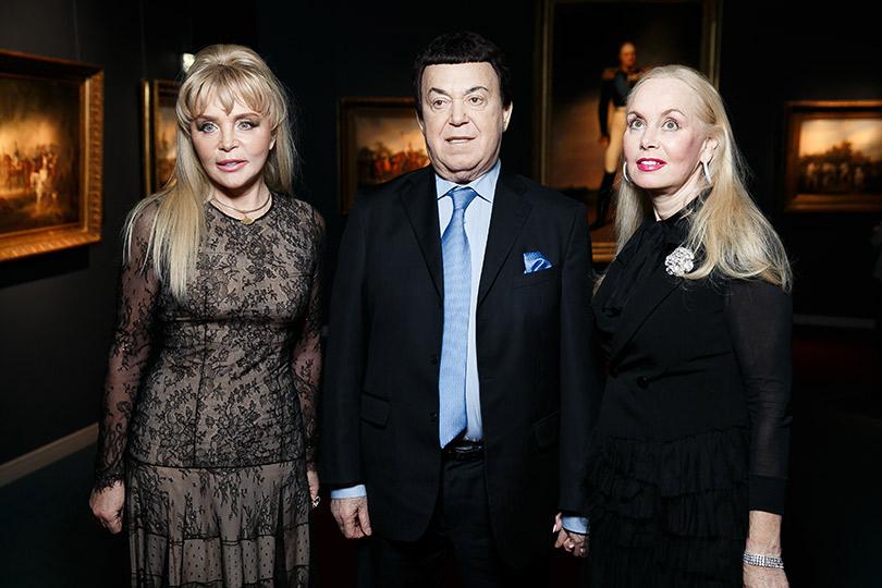 Церемония вручения премии Royal People Awards. Екатерина Диброва, Иосиф иНелли Кобзон