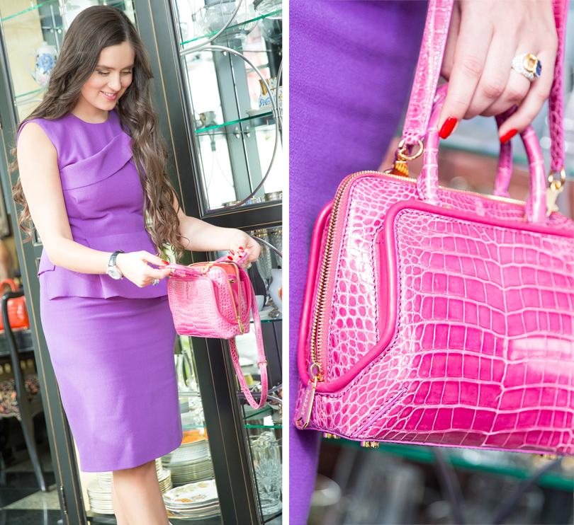 Business & Style: владелица итальянского бренда Rubeus Наталья Бондаренко. Сумка Classic Milan Baby