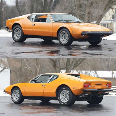 Семь главных машин легендарного автомобильного дизайнера Тома Тьярда. 1970— DeTomaso Pantera
