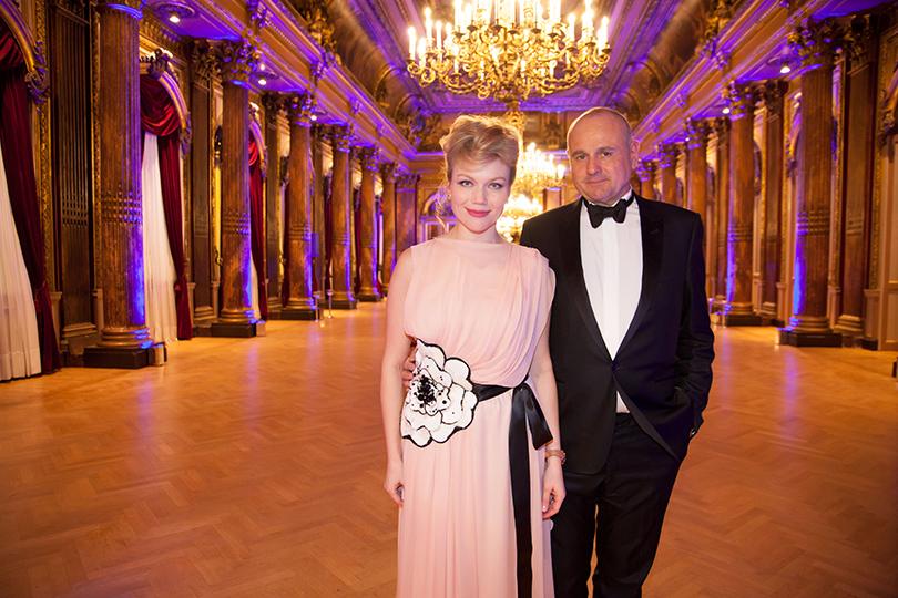 Гала-ужин Yanina Couture в Париже.