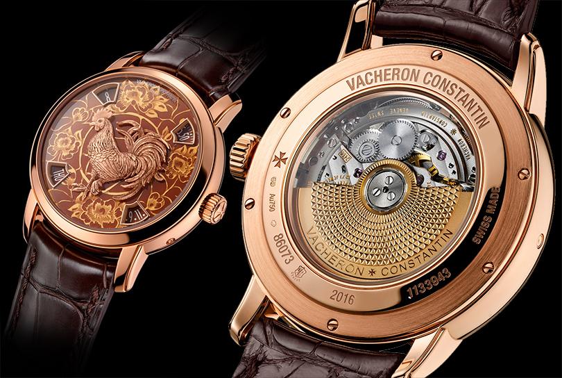 Vacheron Constantin. Новогодние часы Métiers d'Art The legend of the Chinese zodiac