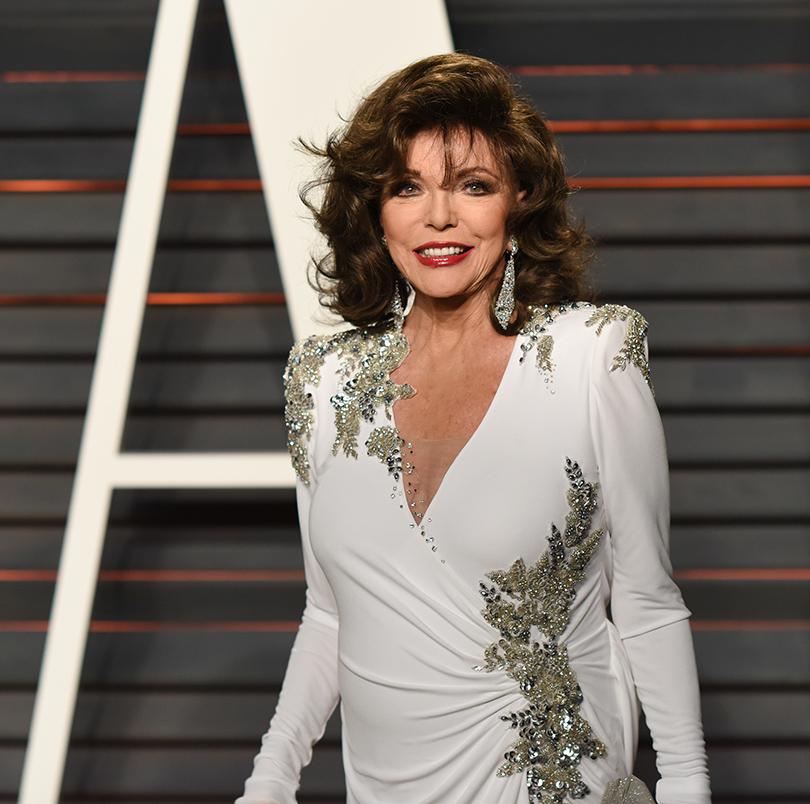 Самые важные светские вечеринки «Оскара» — афтепати Vanity Fair: Джоан Коллинз