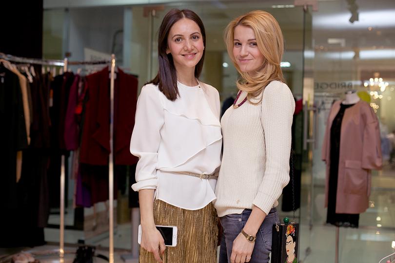 Алина Гасумянова и Евгения Малахова