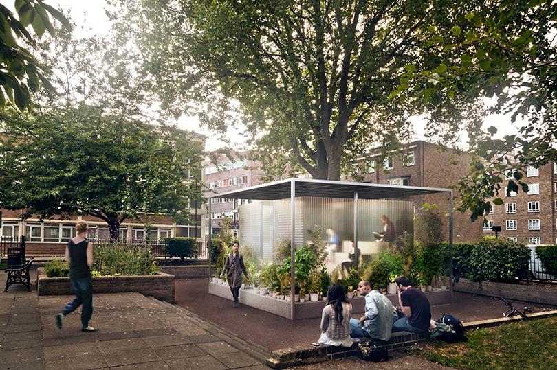 Инсталляция Mini Living – Forests на Лондонском фестивале дизайна