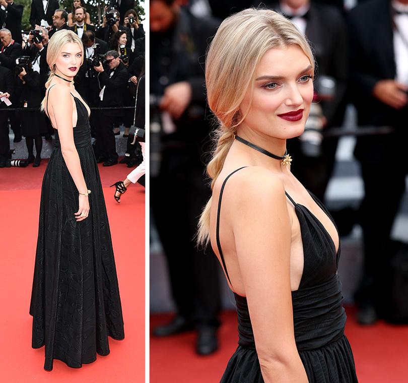 Cannes 2016: самые яркие звездные образы на церемонии открытия кинофестиваля. Лили Дональдсон вSaint Laurent