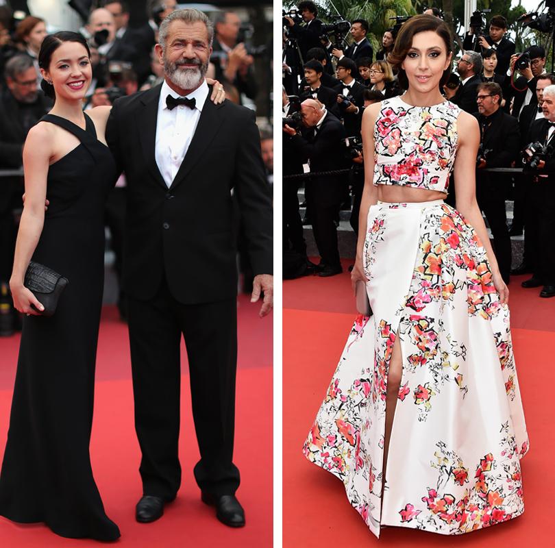 Cannes 2016: гости церемонии закрытия и победители 69-го Каннского кинофестиваля. Розалинд Росс и Мел Гибсон. Екатерина Мцитуридзе