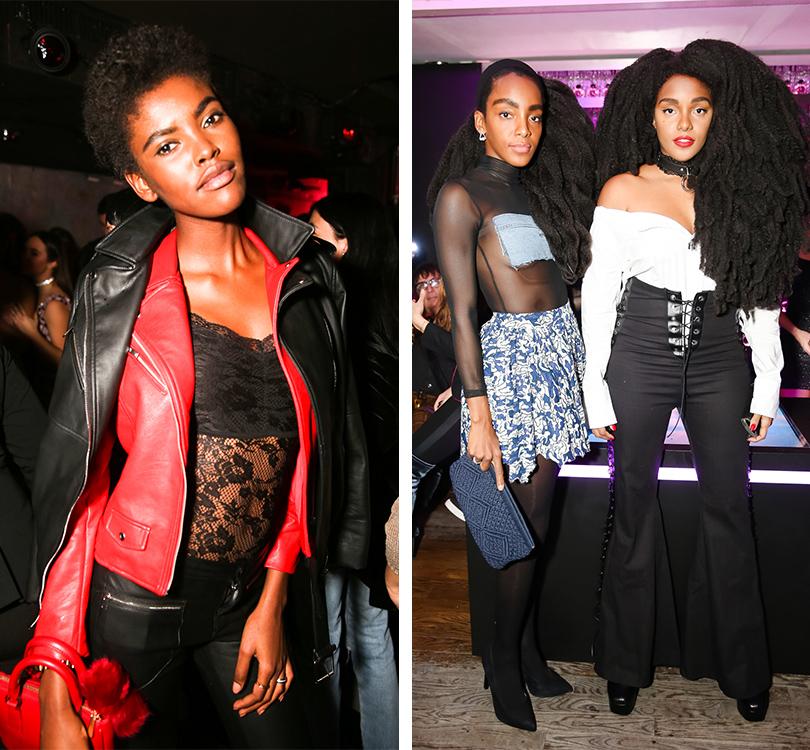 Total Beauty: Белла Хадид иКамиль Роу навечеринке Dior Poison Сlub вНью-Йорке. Амелина Эстевао. Блогеры Киприана Кван и TK Wonder
