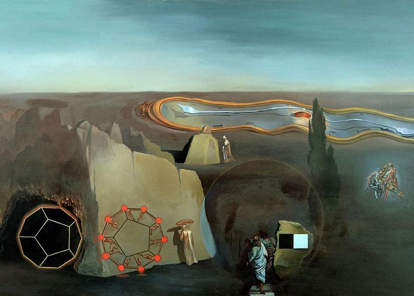 «Сальвадор Дали. Сюрреалист иклассик». Сальвадор Дали. «Впоисках четвертого измерения», 1979г.