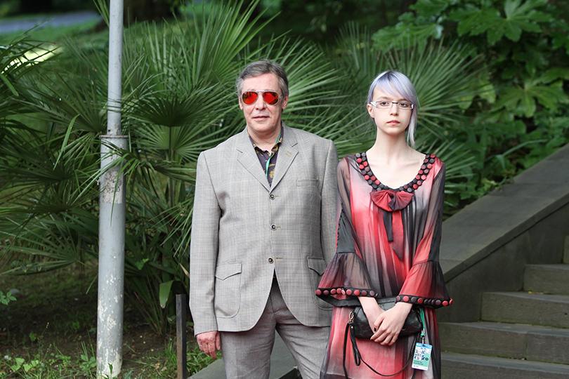 Звезды на открытии «Кинотавра-2016»: Михаил Ефремов с дочерью Анной-Марией