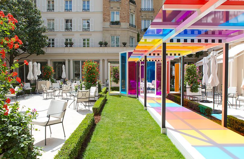 Summer Time: арт-обеды от мишленовского шефа в Le Bristol Paris
