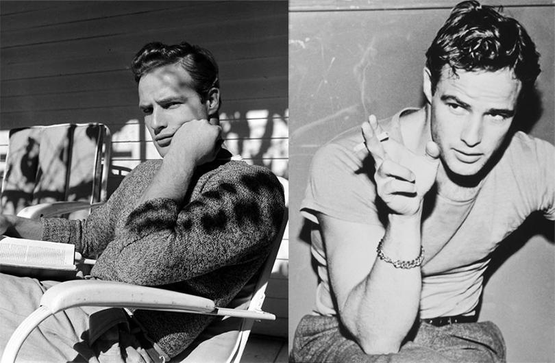 Men in Style: модная легенда Марлон Брандо. Брандо в1949, 1951