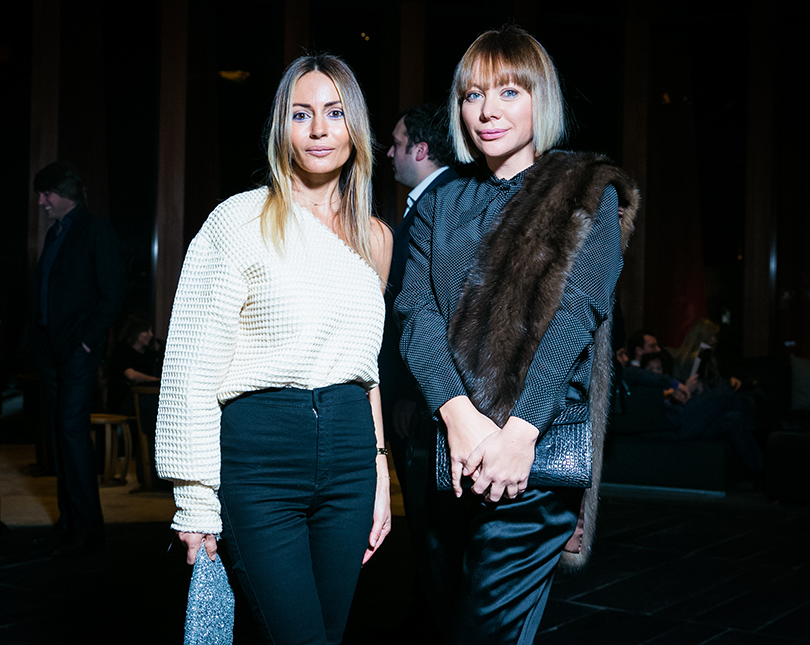 Марина Долидзе и Мария Лопатова