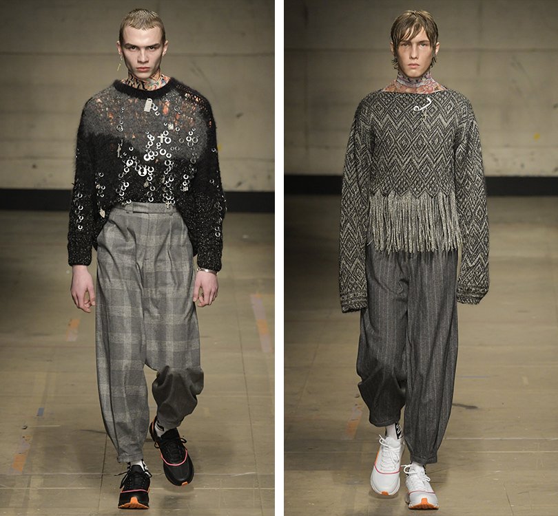 Men inStyle: самые эпатажные образы Недели мужской моды вЛондоне. Topman Design